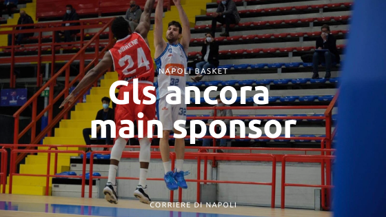 Napoli Basket, GLS ancora Main Sponsor