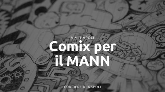 """""""Missione Magna Grecia"""": Comix per il MANN"""