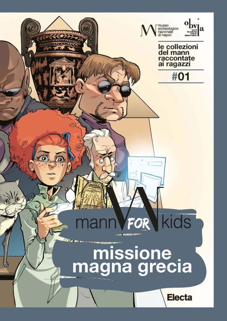 """copertina volume """"Missione Magna Grecia"""""""