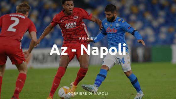 Preview AZ-Napoli: vincere per passare il turno