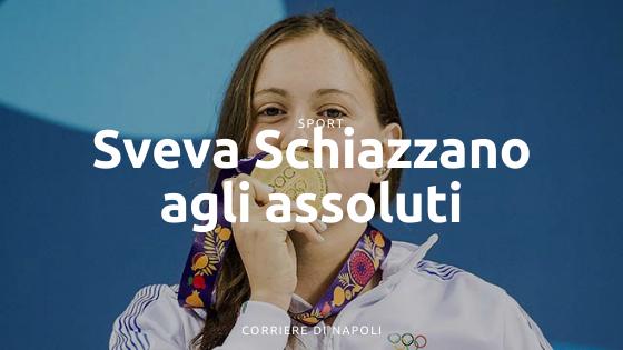 Sveva Schiazzano, qualifica agli assoluti italiani