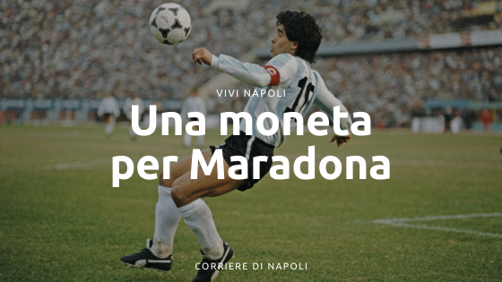La moneta dedicata a Maradona