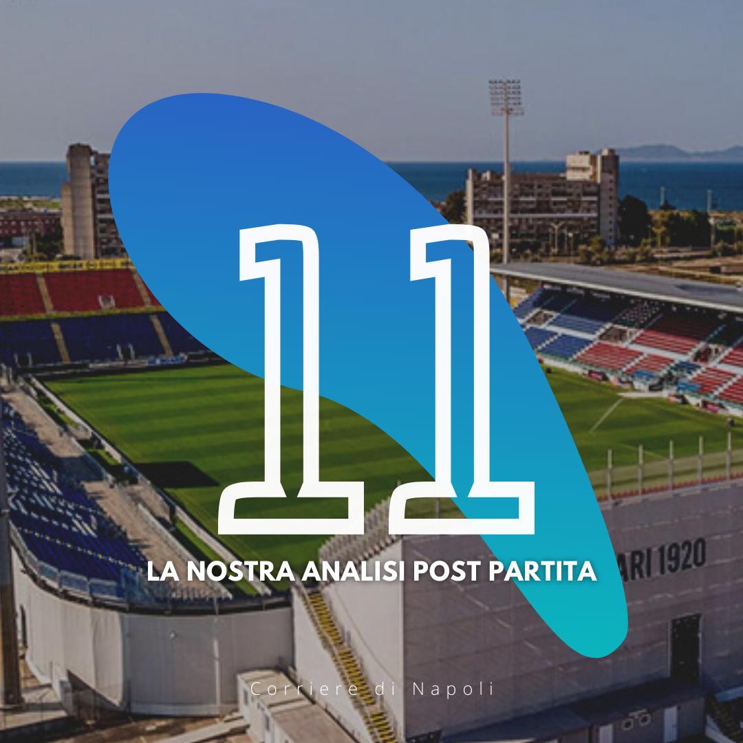 Cagliari – Napoli: la top XI post partita