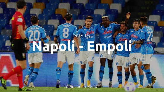 Preview Napoli-Empoli: onorare la Coppa Italia