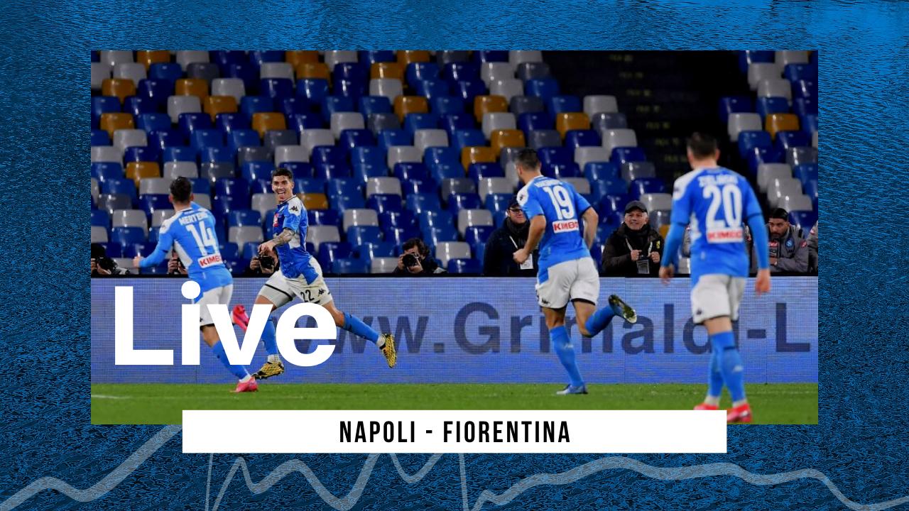 LIVE Napoli-Fiorentina 6-0, Serie A 2020\2021: azzurri che arrivano al meglio alla Supercoppa di mercoledì con la juventus