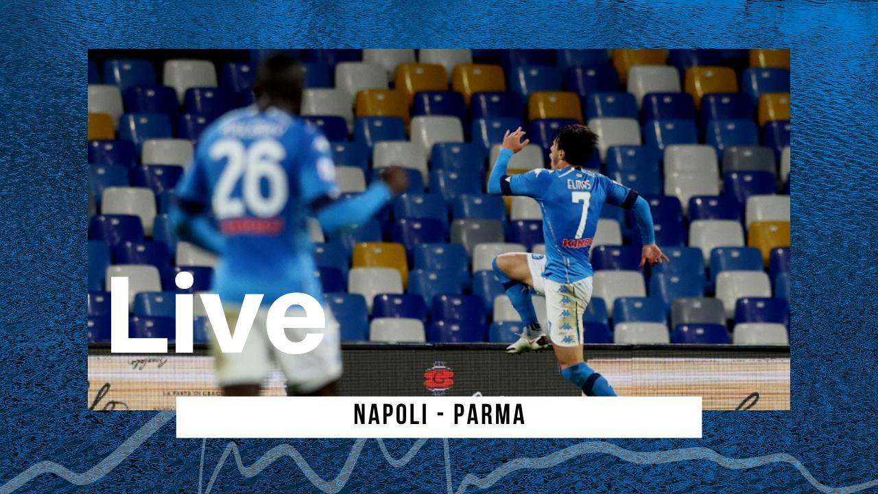 LIVE Serie A 2020\21 Napoli 2-Parma 0: azzurri al quarto posto in attesa del risultato della Roma