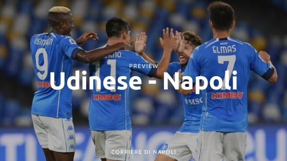 Preview Udinese-Napoli: alla riscossa!