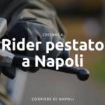 Rider picchiato a Napoli