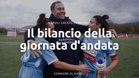 Napoli Calcio Femminile: il bilancio del girone d'andata
