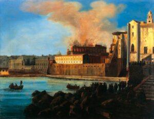 incendio Teatro San Carlo
