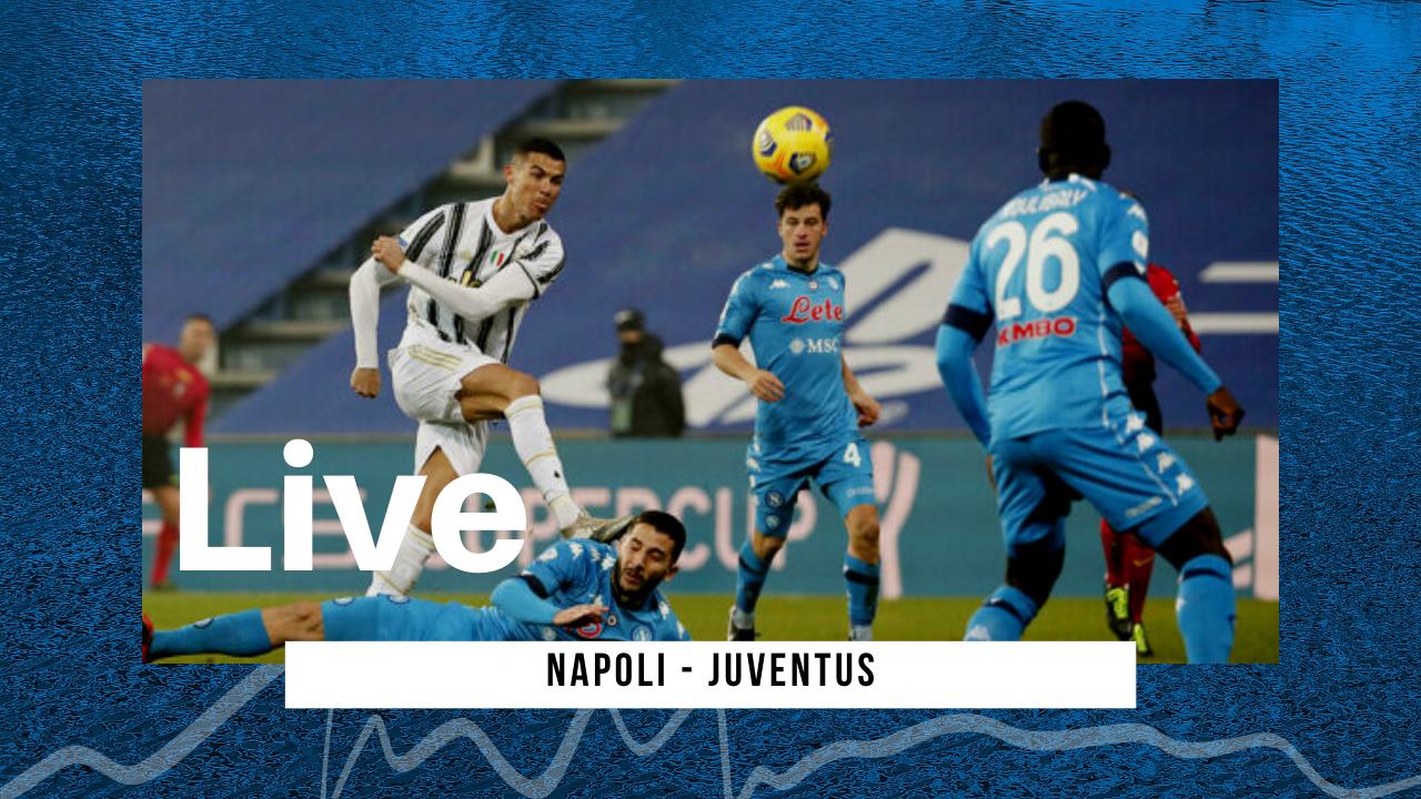 LIVE Napoli-Juventus 1-0, Serie A: Insigne decide il match e gli azzurri volano a -2