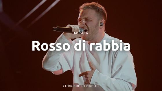 """Napoli alla conquista di Sanremo: Anastasio è """"Rosso di rabbia"""""""