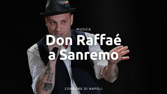 """Napoli alla conquista di Sanremo: Clementino e la sua versione di """"Don Raffaè"""""""