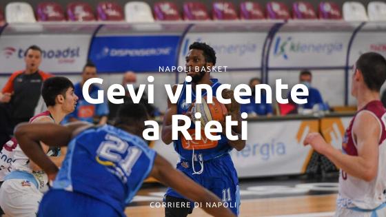 Gevi vincente a Rieti