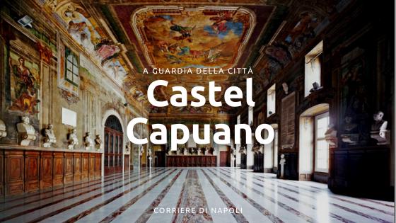 Castel Capuano: il tribunale verso Capua