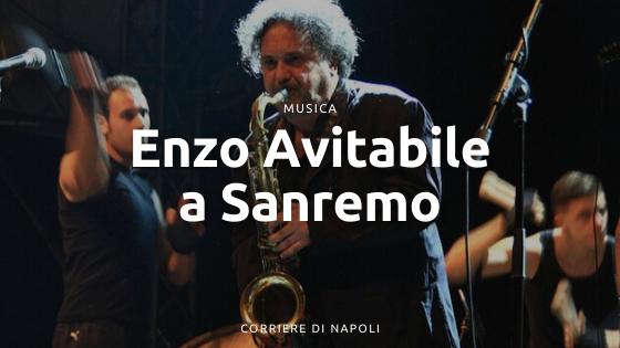 Enzo Avitabile: un bottaro a Sanremo