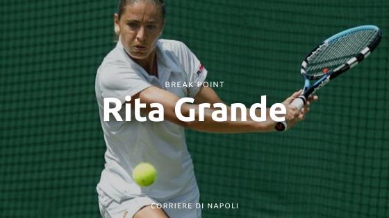 Rita Grande, la tennista napoletana Slam