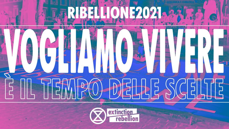 Extinction Rebellion Napoli: Aprile per l'ambiente