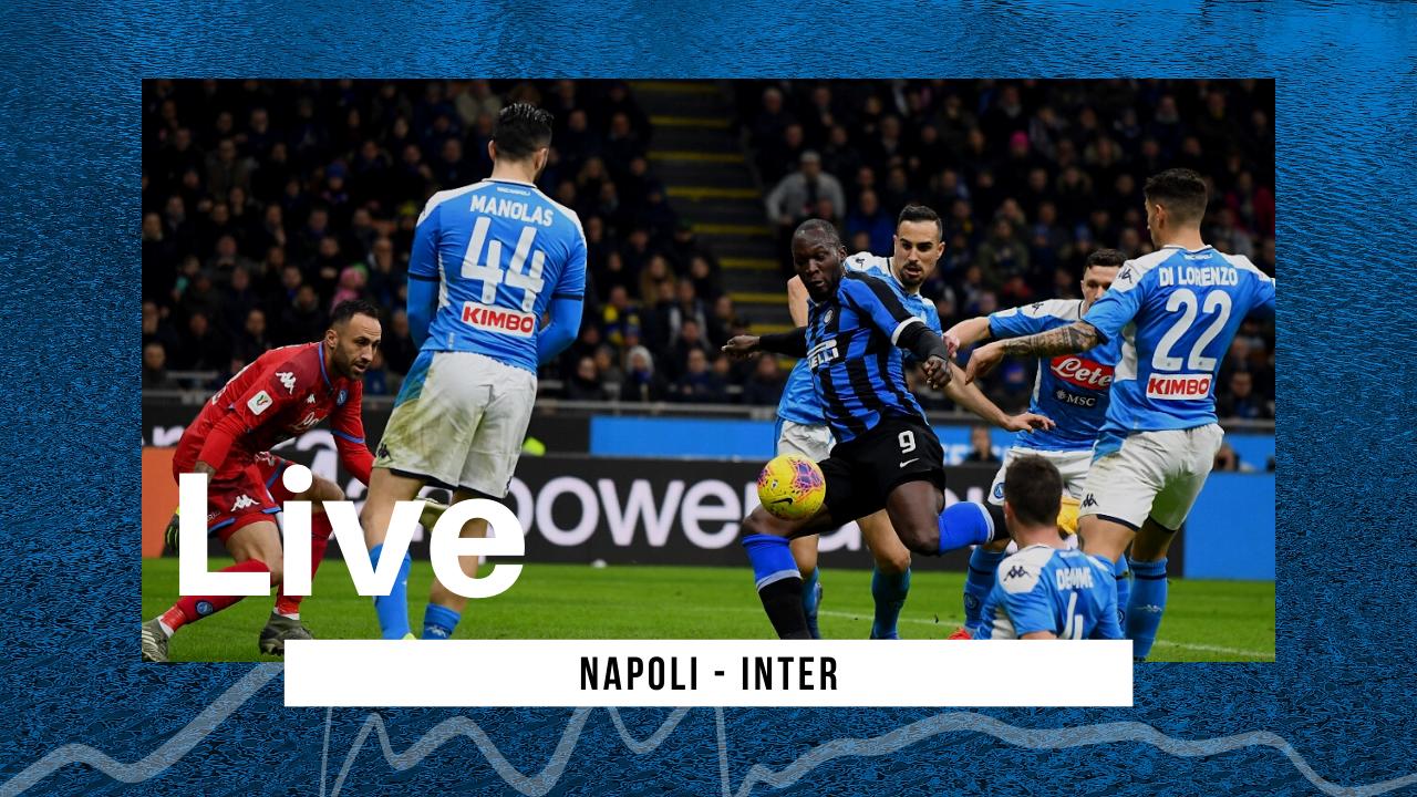 LIVE Napoli-Inter, Serie A 2020\21: Insigne sfida Lukaku al Maradona
