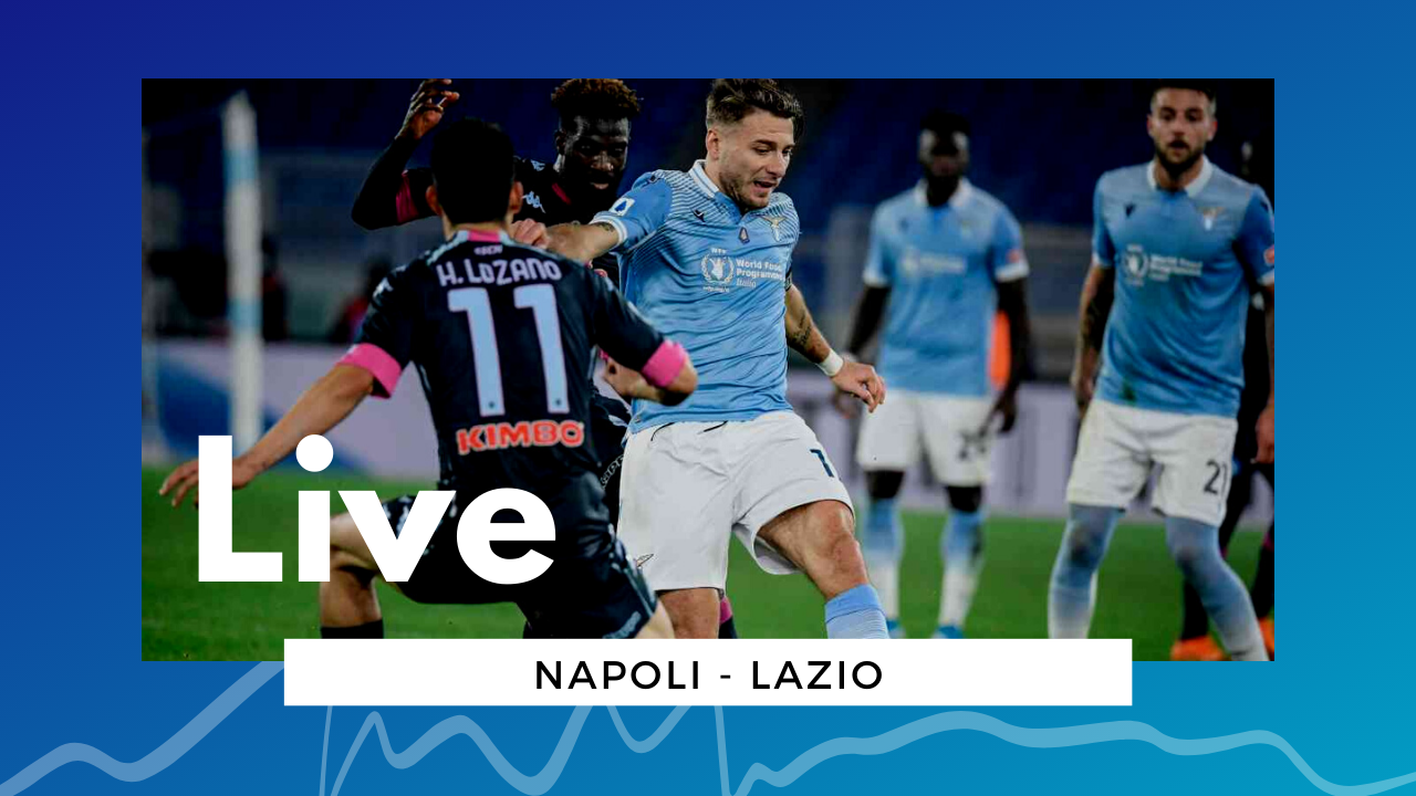 LIVE Napoli-Lazio 5-2 Serie A 2020\21: azzurri a due punti da Juventus e Atalanta