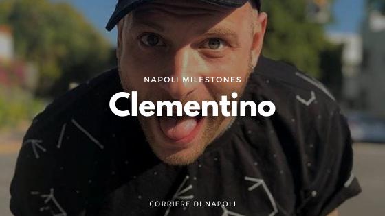 Clementino, cantante e tifoso di Napoli
