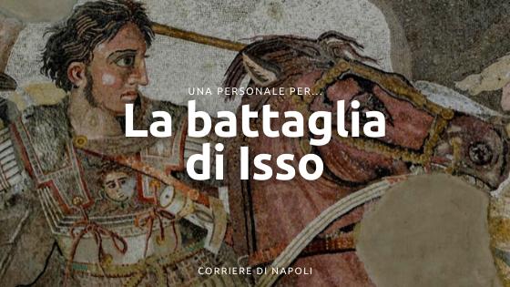 Una personale per il mosaico di Alessandro: la battaglia di Isso