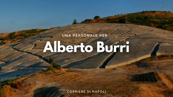 Una personale per Alberto Burri: il Grande Cretto Nero