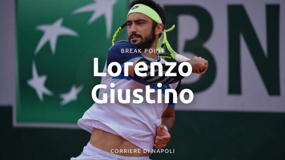 Lorenzo Giustino: il partenopeo che sogna la top100