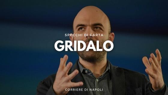 """Roberto Saviano: """"Gridalo"""" è il nuovo best seller"""