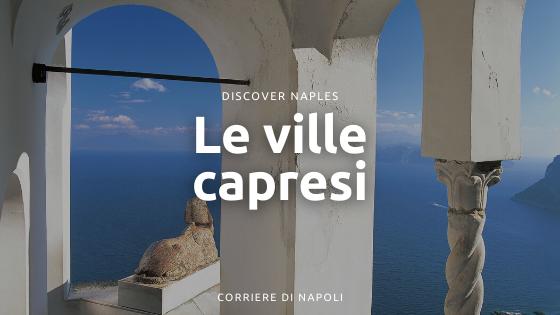 Le ville capresi romane a picco sul mare: come erano raggiunte?