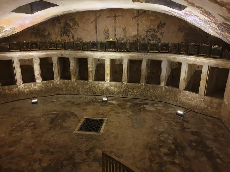 Scolatoi Cripta degli Abati