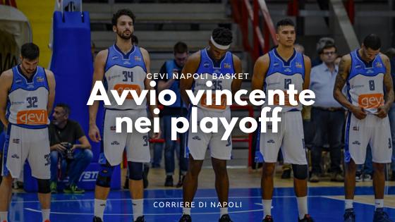 Gevi Napoli avvio vincente nei playoff. Battuta Pistoia