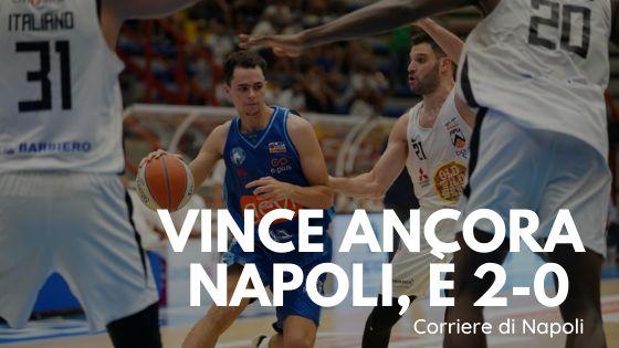 Finale playoff, vince ancora Gevi Napoli. È 2-0 su Udine