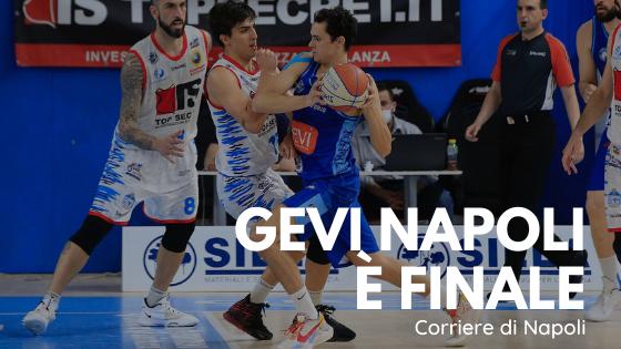 Gevi Napoli corsara a Ferrara: è finale!