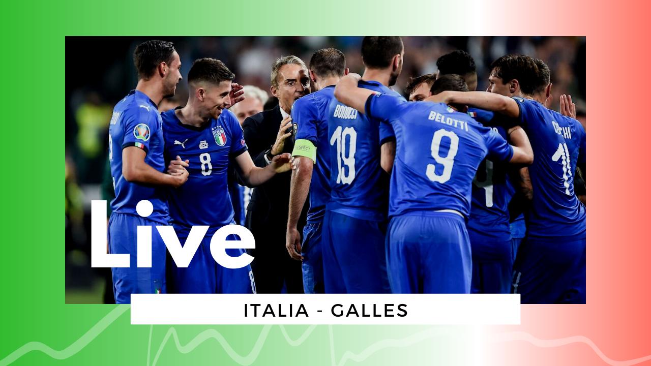 LIVE Italia-Galles 1-0, Euro2020: azzurri primi nel girone