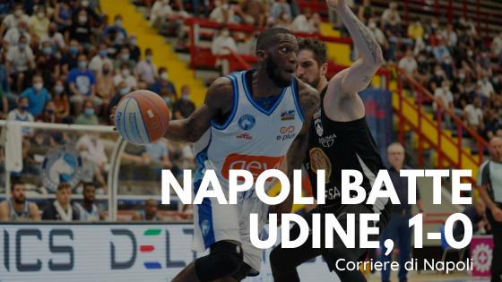 Troppa Gevi per questa Udine. Napoli va sull'1-0