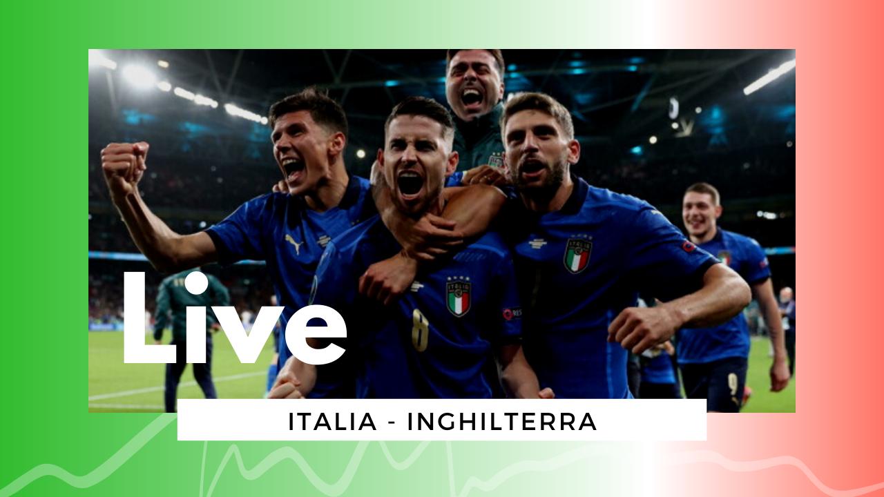 Euro 2020 LIVE Italia-Inghilterra 1-1 (4-3 dcr): gli Azzurri tornano sul tetto d'Europa dopo 53 anni!