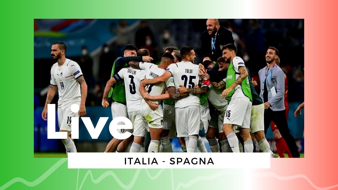 Euro2020 LIVE Italia-Spagna 1-1 (4-2): azzurri in finale!