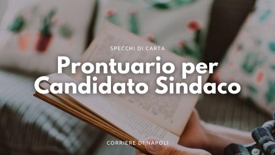 Prontuario per Candidato Sindaco, le frasi di Enrico Parolisi
