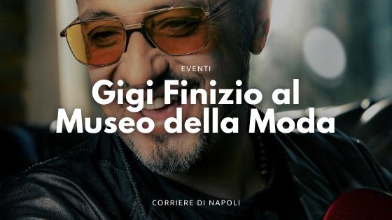 Gigi Finizio omaggia Enrico Caruso al Museo della Moda di Napoli