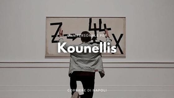 Una personale per Jannis Kounellis, l'arte povera