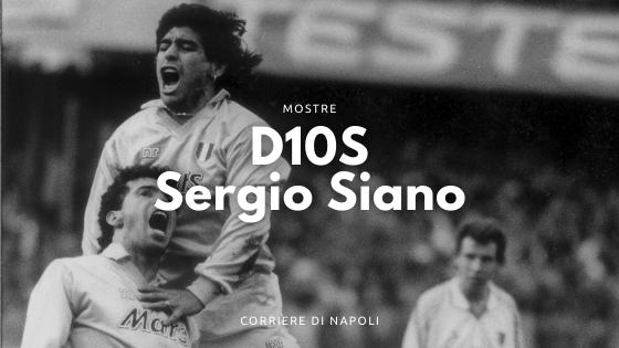 D10S: la mostra di Sergio Siano al Jambo1