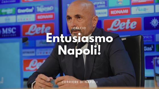 Entusiasmo Napoli a Dimaro: da Spalletti alle nuove maglie